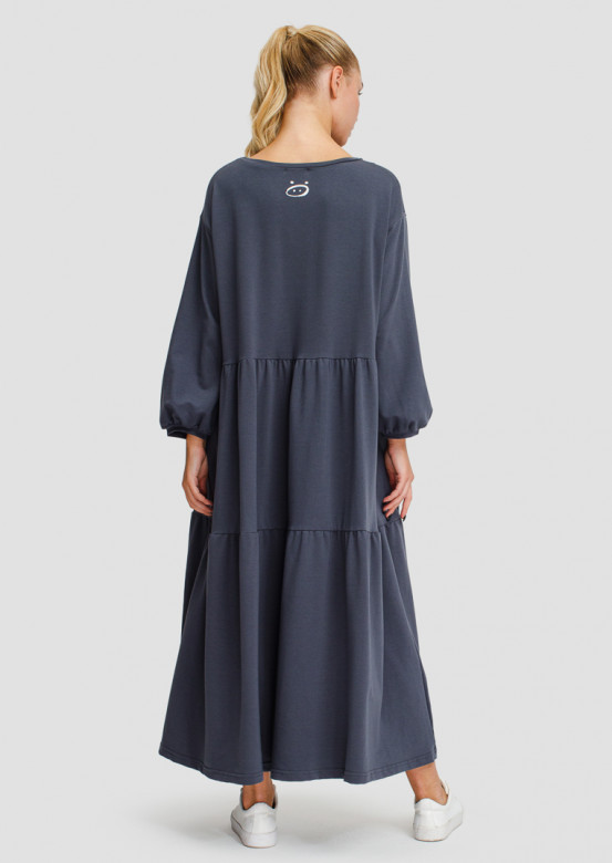 "Grey dress ""countrywoman"""