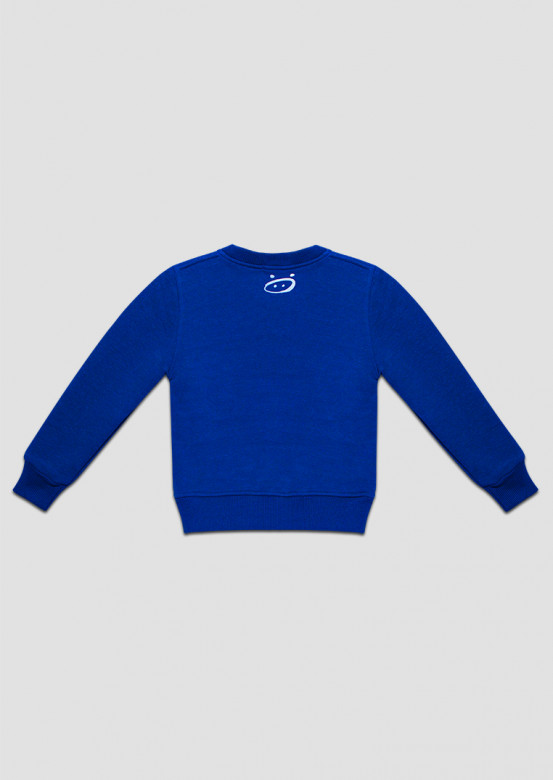 Electric kids footer sweatshirt