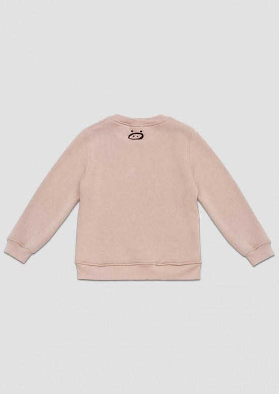 "Mocha kids footer sweatshirt ""Всмысле?"""