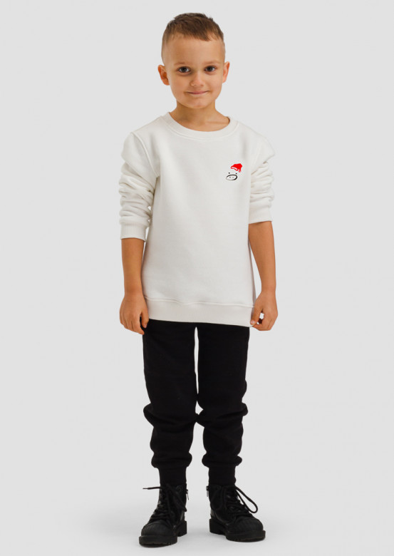"Champagne kids sweatshirt ""with muzzle"""