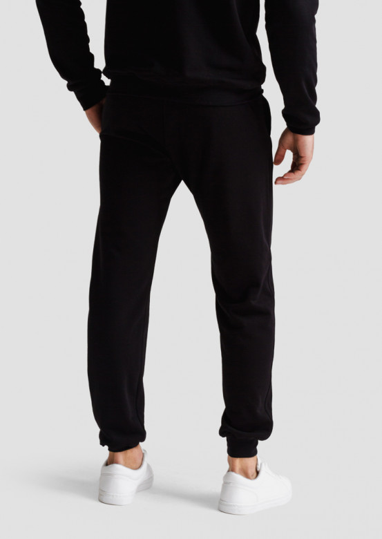 Black men footer trousers