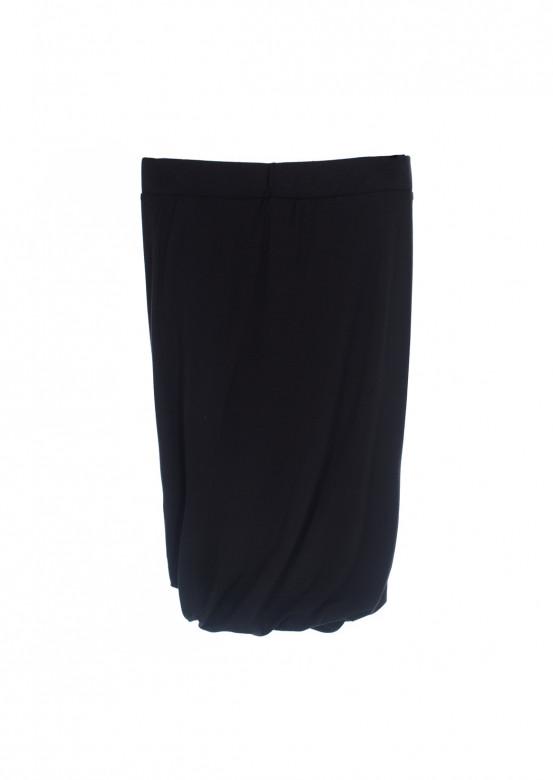 Dark grey skirt with pleats