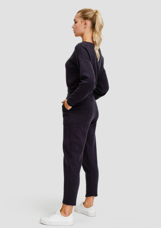 Grey basic with added wool suit