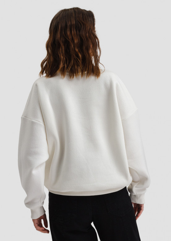 "Champagne women's sweatshirt ""with muzzle"""
