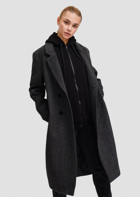 Grey classic coat