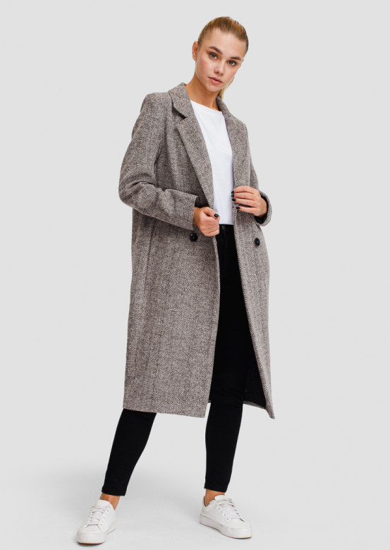 Light brown classic coat