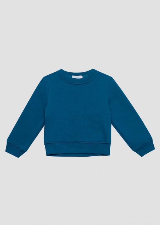 Aquamarine kids footer sweatshirt