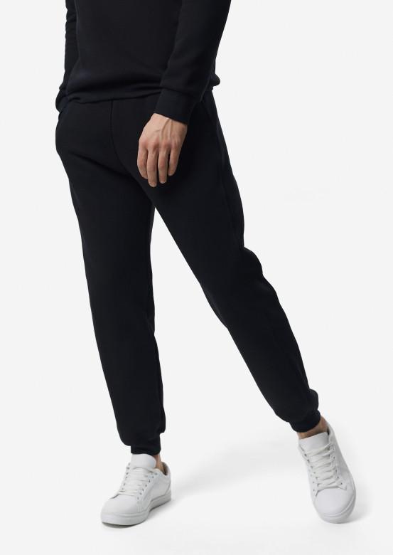 Dark blue men trousers