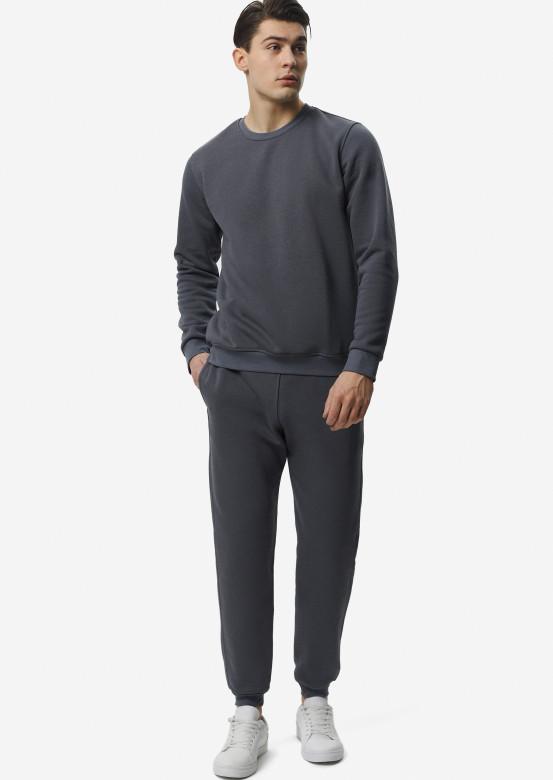 Black men footer sweatshirt