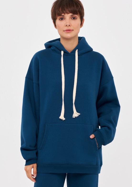 Poseidon colour footer hoodie