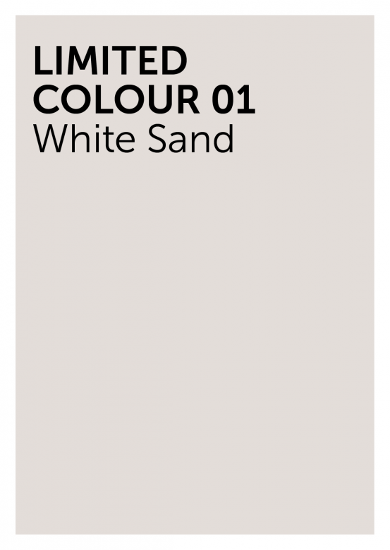 White Sand colour footer hoodie