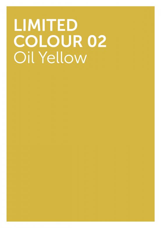 Oil Yellow colour women basic footer sweatshirt