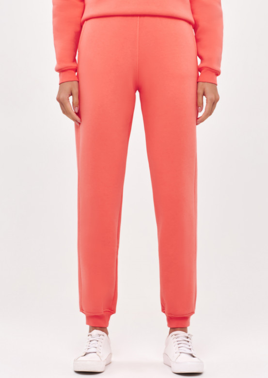 Living Coral women basic footer trousers
