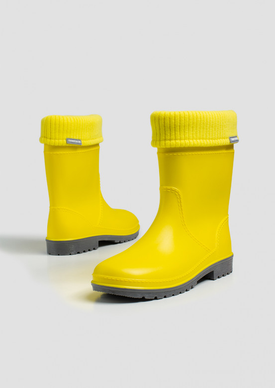 Women yellow colour boots