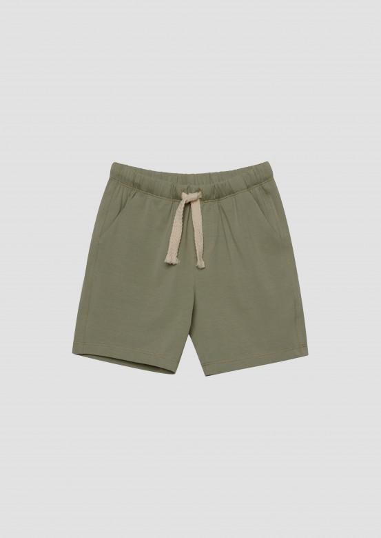 Light khaki kids shorts