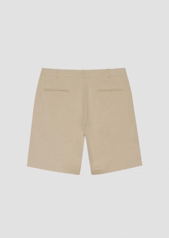 Beige men's chino shorts