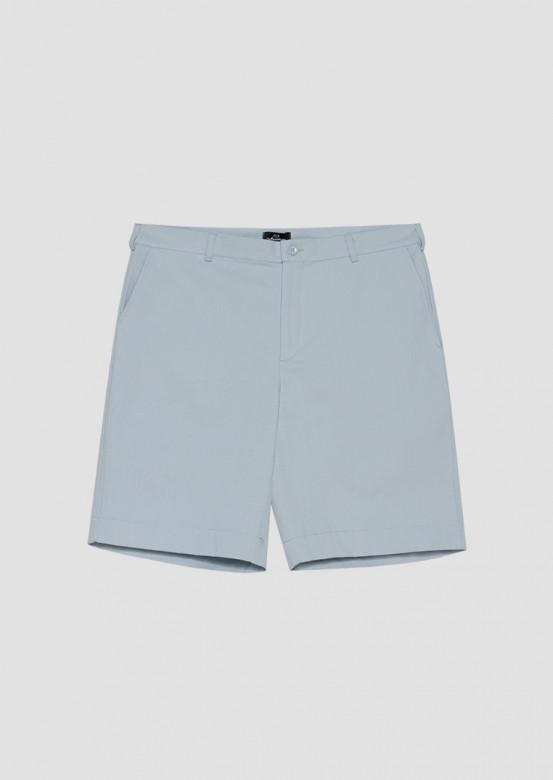 Blue men's chino shorts