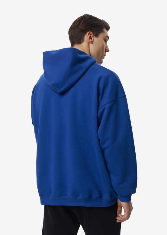 Electric men three-thread hoodie