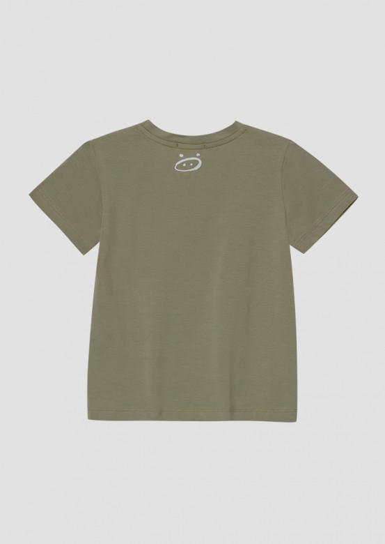 Light khaki kids T-shirt