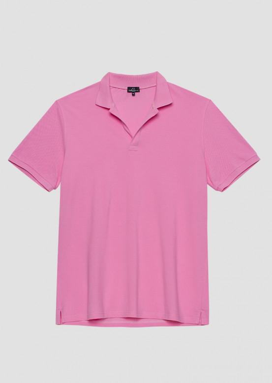 Pink colour men polo