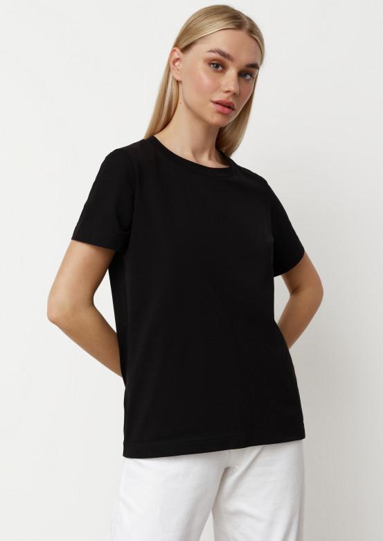 Black blank T-shirt