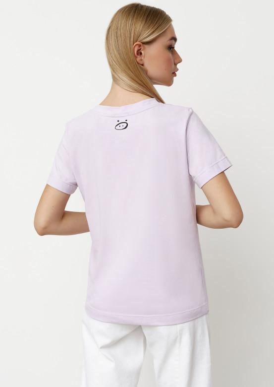 Lavender blank T-shirt