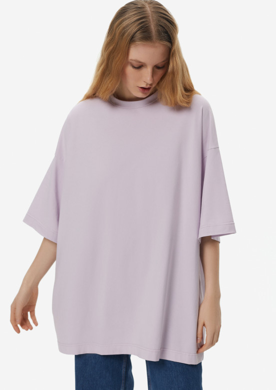 Lavender mega oversize T-shirt