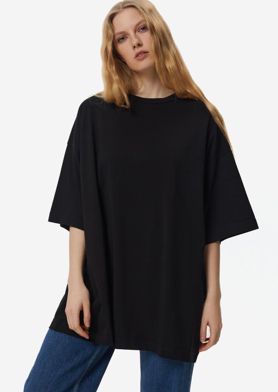 Black mega oversize T-shirt