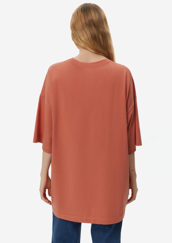 Terracotta mega oversize T-shirt