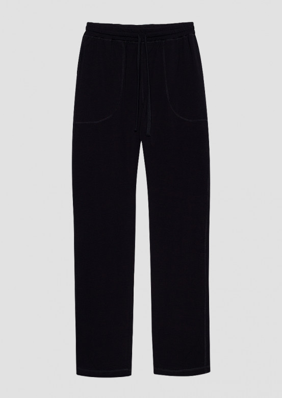 Black colour men trousers with pockets