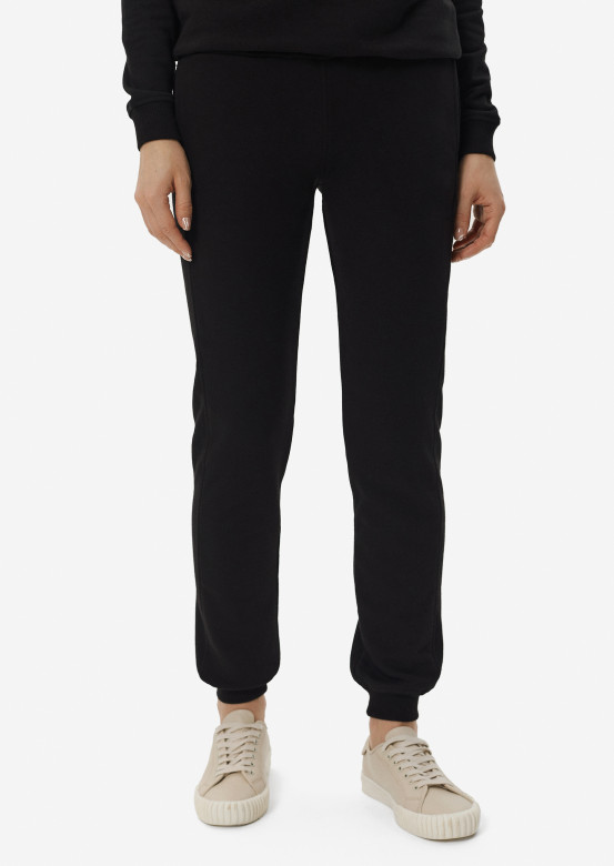 Black women three-thread trousers