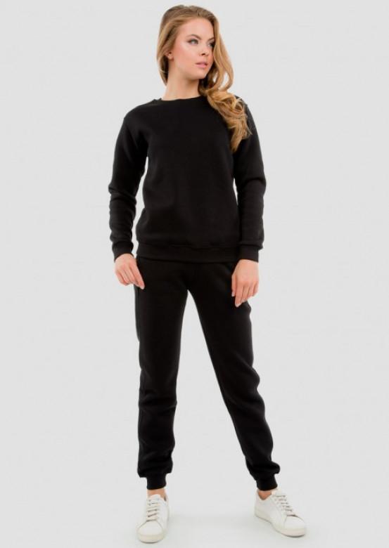 Black women footer sweater