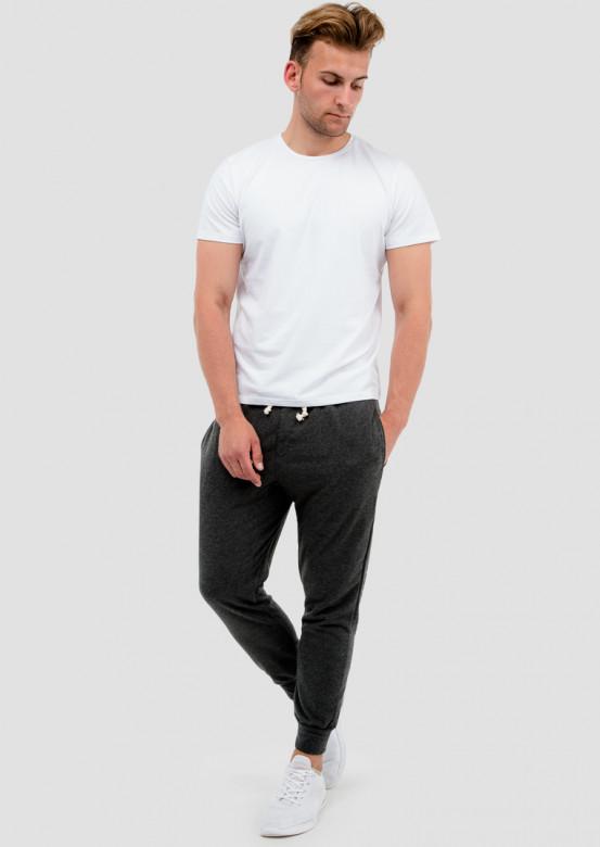 White men basic T-shirt